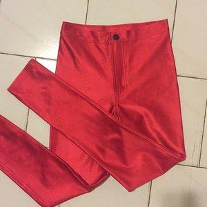 ❤️ RARE American Apparel Red Disco Pant ❤️